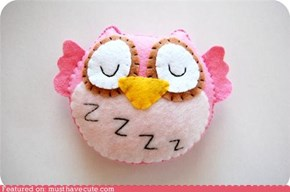 Sleepy Owl Plush