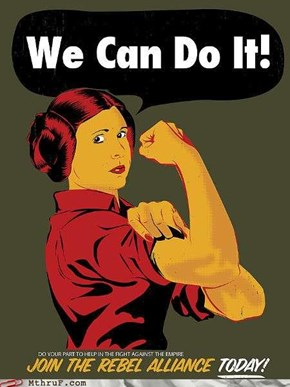 The Importance of Female Labor, as Explained by Star Wars