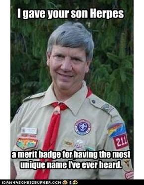 Creepy Scout Master: He Deserves a Clap