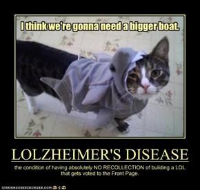 LOLZHEIMER'S DISEASE