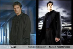 Angel Totally Looks Like Captain Jack Harkness