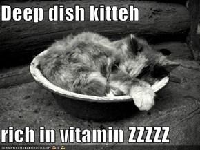 Deep dish kitteh