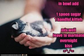 sweet kitteh recipe