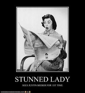 STUNNED LADY