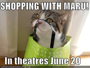 SHOPPING WITH MARU!  In theatres June 20