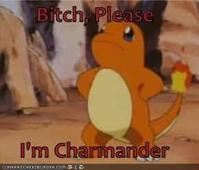 Bitch, Please  I'm Charmander