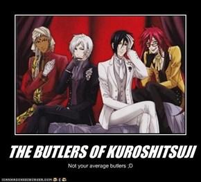 THE BUTLERS OF KUROSHITSUJI