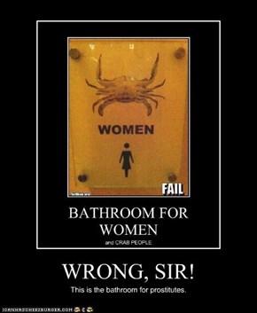WRONG, SIR!