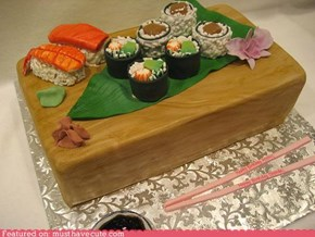 Epicute: Cake of Sushi