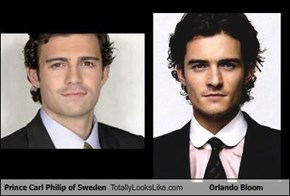 Prince Carl Philip of Sweden Totally Looks Like Orlando Bloom