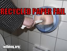 Toilet Paper Dispenser FAIL