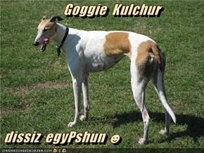 Goggie  Kulchur   dissiz  egyPshun ☻