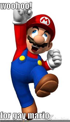 woohoo!  for gay mario