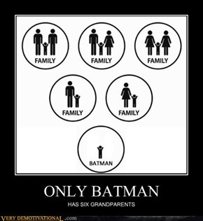 ONLY BATMAN