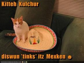Kitteh  Kulchur   diswun *tinks* itz  Mexken ☻