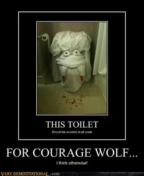 FOR COURAGE WOLF...