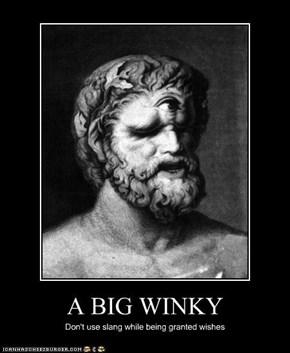A BIG WINKY