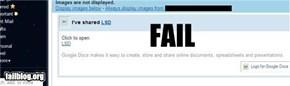 Sharing Fail