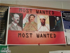 Most Wanted Poster WIN