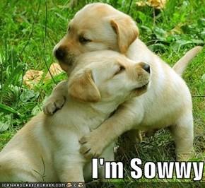 I'm Sowwy