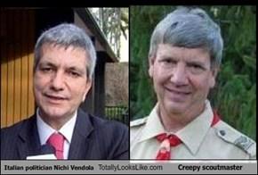 Italian politician Nichi Vendola Totally Looks Like Creepy scoutmaster