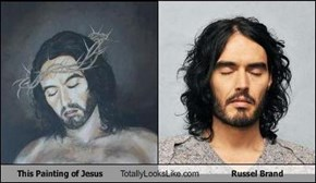 This Painting of Jesus Totally Looks Like Russel Brand