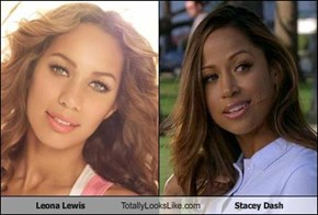 Leona Lewis Totally Looks Like Stacey Dash