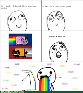 Nyan Cat vs. Tac Nayn