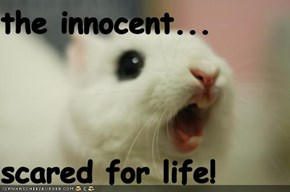 the innocent...  scared for life!