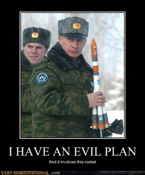 I HAVE AN EVIL PLAN