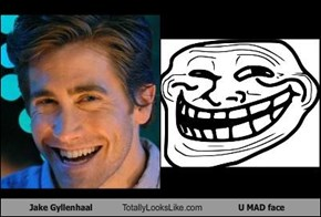 Jake Gyllenhaal Totally Looks Like U MAD face