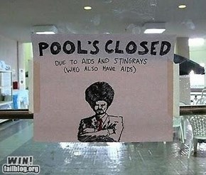 Pool Closure WIN