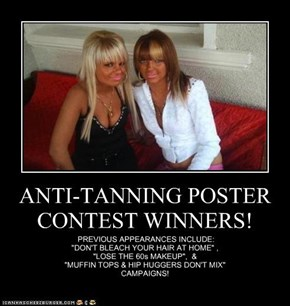 ANTI-TANNING POSTER CONTEST WINNERS!