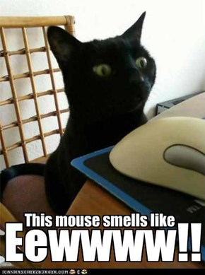 This mouse smells like...Eewwww!!