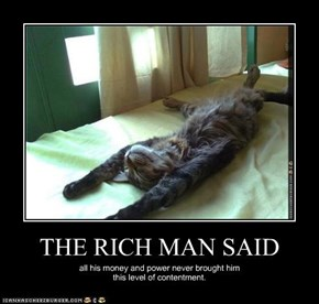 THE RICH MAN SAID