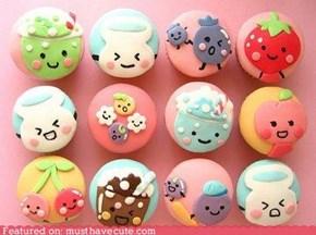 Anime Cupcakes!!!!!