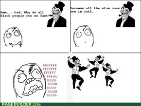 Troll Dad: Black People Rage