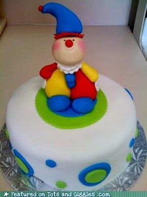Cake of the Day: Send In The Clowns