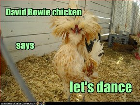 David Bowie chicken