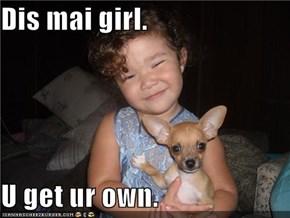 Dis mai girl.