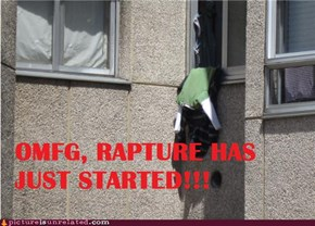 Rapture has just started