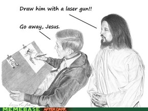 LOLJesus: He's No Bob Ross
