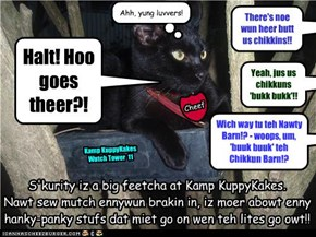 Officer Millie, Hed ov S'kurity at Kamp KuppyKakes
