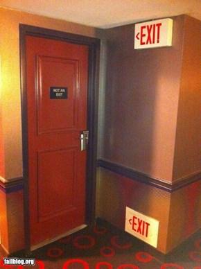 Hotel Exit FAIL