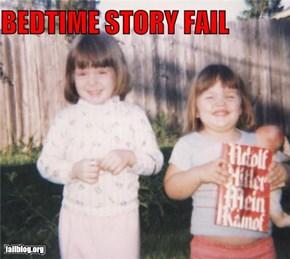 Bedtime Story Fail