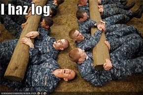 I haz log