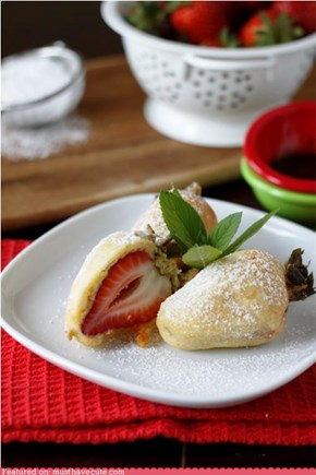 Epicute: Deep Fried Strawberries