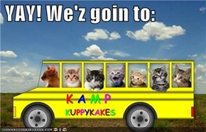 YAY! We'z goin to: