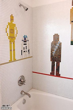 Star Wars Shower Tiles WIN