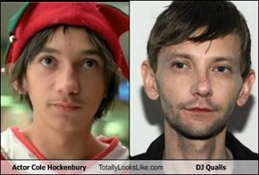 Actor Cole Hockenbury Totally Looks Like DJ Qualls
